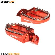 New Orange KTM SX 85 105 03-16 RFX Pro Shark Teeth Wide Foot Pegs Footpegs